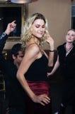 sexig dansare royaltyfri foto