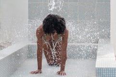 Sexig dominikansk flicka royaltyfri fotografi