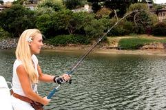 sexig fiskare Arkivbilder