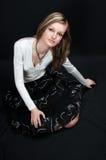 sexig flicka 03 Royaltyfria Foton
