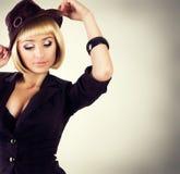 Sexig flicka Fotografering för Bildbyråer