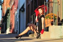 sexig flickautvikningsbrud Royaltyfria Bilder