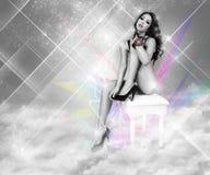 sexig gudinna Royaltyfria Bilder