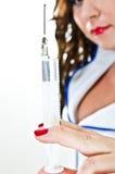 Sexig injektion Royaltyfri Fotografi