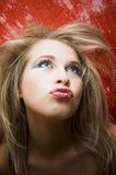 sexig kvinna Royaltyfria Bilder