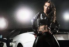 sexig kvinna Arkivfoto