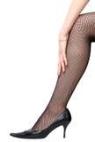 sexig kvinna för ben royaltyfri bild