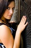 sexig kvinna för brunett Royaltyfri Foto