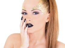 sexig kvinna för glamour Royaltyfri Foto