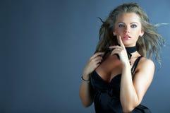 sexig kvinna för glamourstående Arkivfoton
