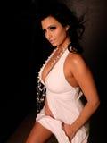sexig kvinna för mode Royaltyfria Bilder