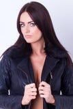 sexig kvinna för stående Royaltyfri Foto