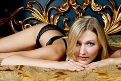 sexig kvinna för underlag royaltyfria bilder