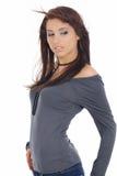 sexig kvinna för glamourstående Royaltyfria Bilder