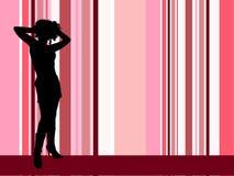 sexig kvinnlig Arkivbild