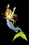 sexig mermaid mycket vektor illustrationer