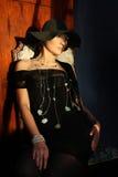 sexig modeflicka Royaltyfria Bilder