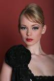 sexig modeheadshotmodell Royaltyfri Bild