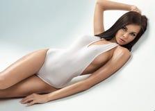Sexig modell Arkivfoton