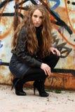 Sexig provokativ flicka Royaltyfria Foton