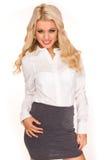 sexig sekreterare Royaltyfria Bilder