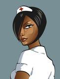 sexig sjuksköterska vektor illustrationer