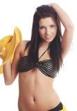 sexig sommar för flicka royaltyfri bild
