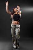 sexig studiokvinna Fotografering för Bildbyråer
