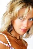 sexig underkläderkvinna Arkivfoto
