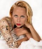 sexig underlagflicka Fotografering för Bildbyråer