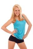 Sexig ung blond kvinna Royaltyfria Bilder