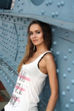 Sexig ung kvinna Royaltyfria Bilder