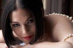 Sexig vuxen kvinna arkivfoton