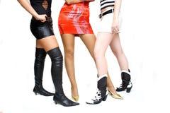 sexiga kvinnor för ben Royaltyfri Fotografi