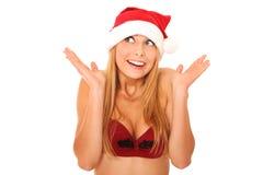 Sexiga Santa Arkivfoto