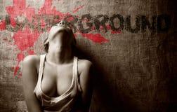 sexigt kvinnabarn Fotografering för Bildbyråer