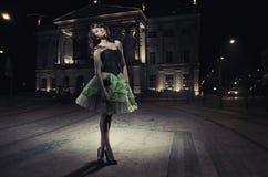 sexigt ladyfoto Arkivbild