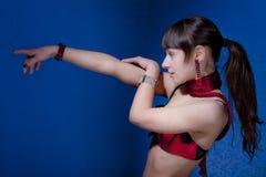 sexigt sportigt Fotografering för Bildbyråer