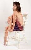 Sexiness de jupe et de lien photo libre de droits