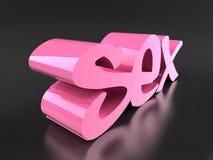 Sexo Foto de archivo libre de regalías