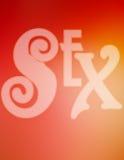 Sexo ilustración del vector