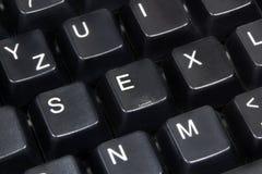 Sexo de la palabra Fotografía de archivo libre de regalías