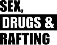 Sexo, drogas e transportar ilustração stock