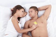 Sexo seguro Foto de archivo