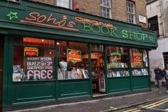 Sexshop Londra Soho Immagine Stock