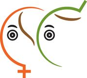 sexsymbol Arkivbild