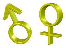 Sexsymbol Royaltyfri Fotografi