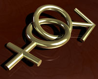 sexsymboler Arkivbild