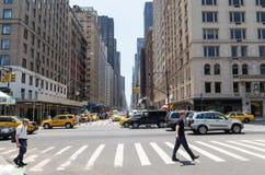 Sexta avenida Fotografía de archivo