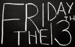 Sexta-feira o 1ó Imagem de Stock